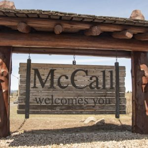 McCall Sign